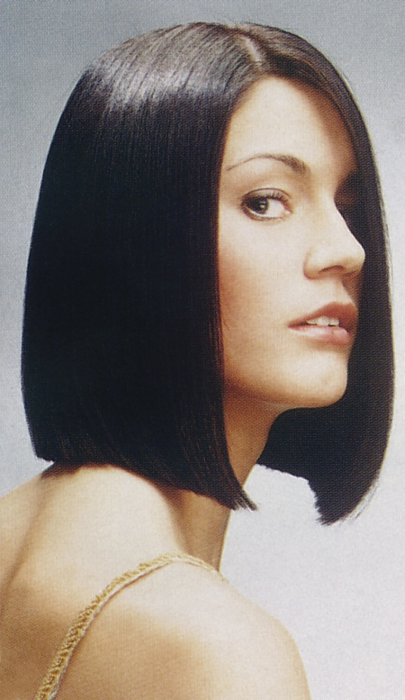 haircuts for brunettes medium hair style bob black 2434 | gmedium straight brunette 2434