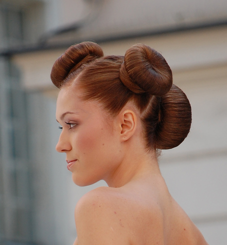 2010 Roll Updo Hairstyles