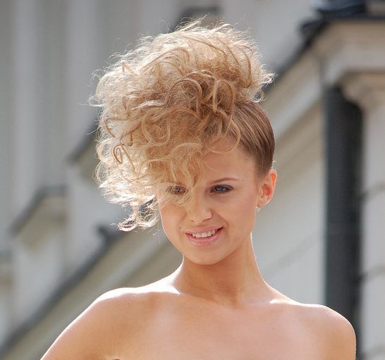 Picture Of 2010 Curly Updo For Women Png
