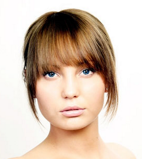 easy hairstyles side bangs images