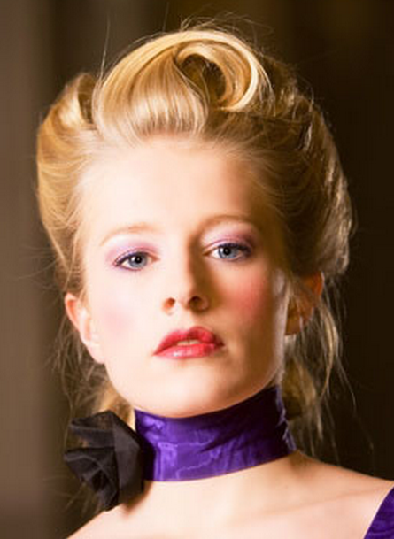Victorian Updo Picture Png