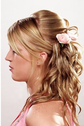 Hairstyles Updos 2012 on Prom Hairstyles Updos For Medium Hair S   Prom Hairstyles   Zimbio