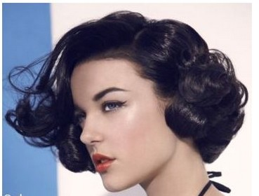 Black Hairstyle With Swoop Bangs | Hairstyle Gallery