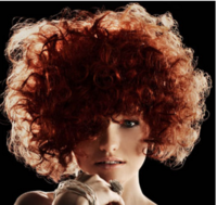 Short women perm in red with long side bangs.PNG