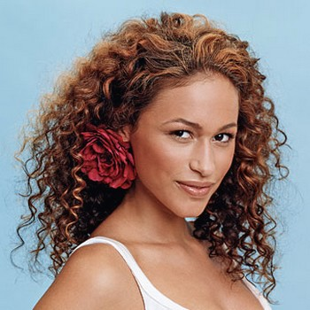 formal hairstyles for black women. African American Medium Curly Hairstyle