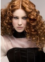 sexy and romantic women curly hairstyle with big curly bangs.JPG