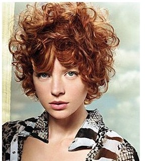 Prime Very Short Curly Hairstyle With Red Hair Hairstyles For Women Draintrainus