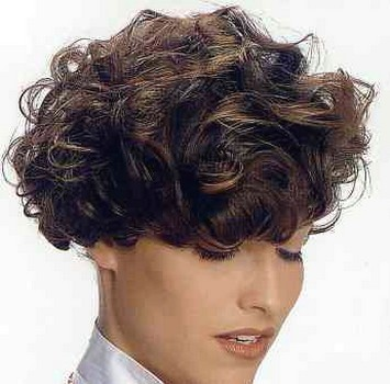 short curly hairstyles for women over. women curly short