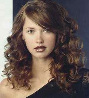 Swell Cool Hairstyle 2014 Curly Hairstyles With Side Bangs Hairstyles For Women Draintrainus