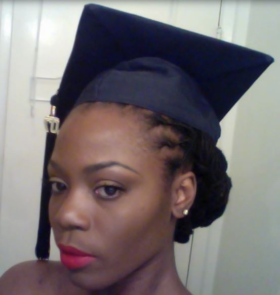 Graduation Hairstyles Girls: Fancy Graduation Hairdo With Braids Perfect For Black Girls