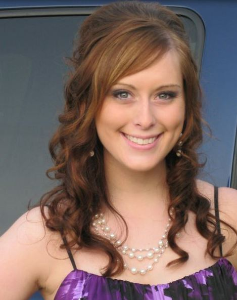 Prom Hairdo With Half Curly Updo And Long Straight Hair ...