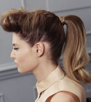 Rockabilly ponytail hairstyle photos