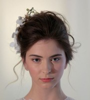 Textured updo prom hairstyle images