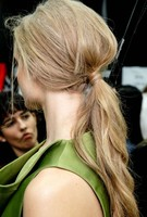 Unique modern ponytail prom hairdo pictures