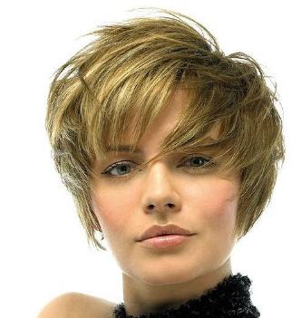 Short Shag Haircut Women
