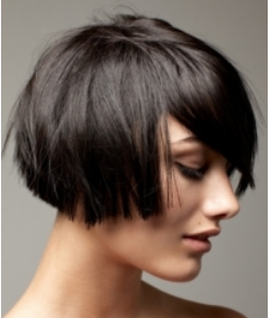 Strange Cute Groovy Tapered Bob Haircut Picture Hairstyles For Women Draintrainus