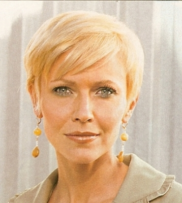Hair mature picture style woman
