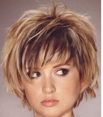 Sensational Young Women Hairstyle With Full Of Layers And Highlights With Long Short Hairstyles For Black Women Fulllsitofus