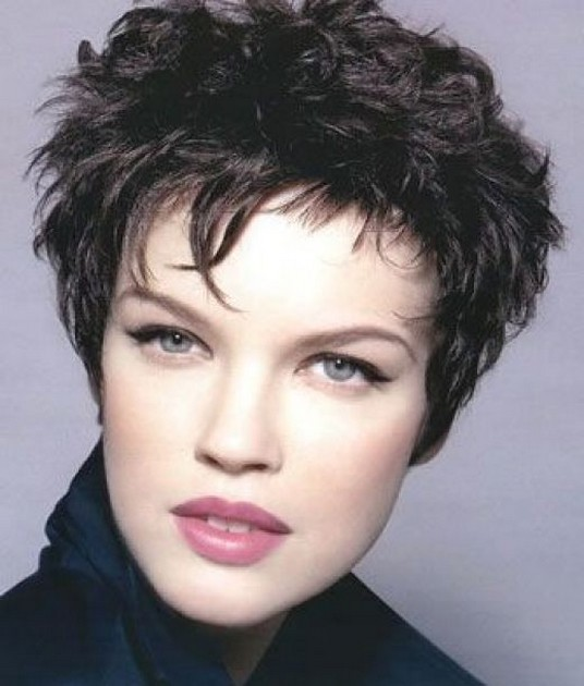 Picture of Short Hairstyles For Fine Hair Photos