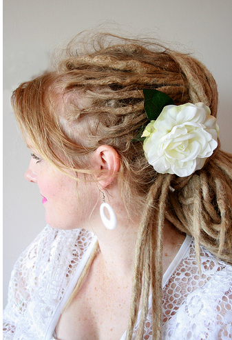 dreadlock hairstyle. Blonde Dreadlocks hairstyle