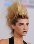 Punk women hairstyle
