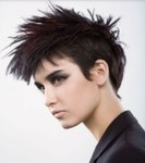 Women's Short Punk Hairstyles Photo