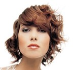 fashion curly hairstyle for women
