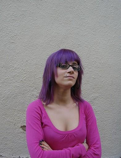 Medium Long Punk Hairstyle
