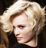 Sexy spiky bob blonde