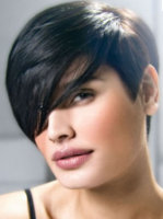 short women haircut hairstyles pictures page 2 2100 | Women boyish haircuts with very long swept bang with classic boyish very short length.thumb