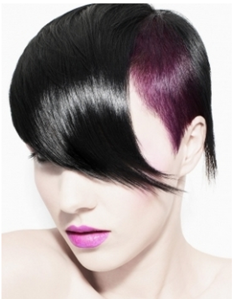 women punk hairstyle picture png