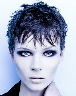 Women Sexy Short Haircuts In Extremely Short Length Png