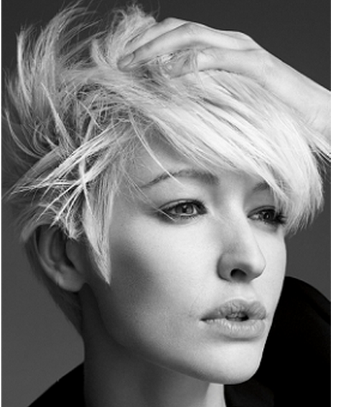 Short textured hairstyles women by www womensbeautylife com